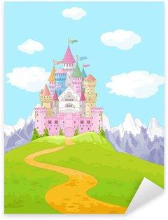 Pixerstick para Todas las Superficies Fairy Tale Paisaje Castillo