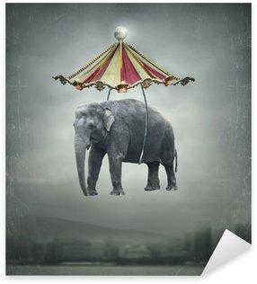 Pixerstick para Todas las Superficies Fantasy elefante