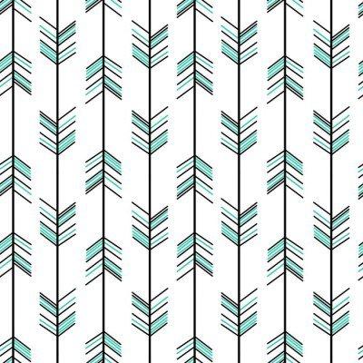 Pixerstick para Todas las Superficies Flecha vector patrón de fondo sin fisuras ilustración inconformista
