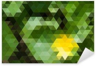 Pixerstick para Todas las Superficies Fondo geométrico abstracto
