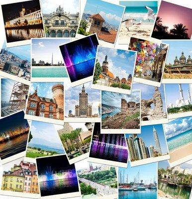 Pixerstick para Todas las Superficies Fotos de viajes a diferentes países
