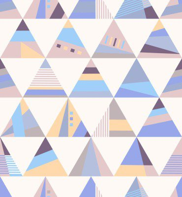 Pixerstick para Todas las Superficies Geométrico retro sin patrón