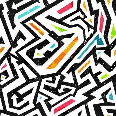 Pixerstick para Todas las Superficies Graffiti - seamless pattern
