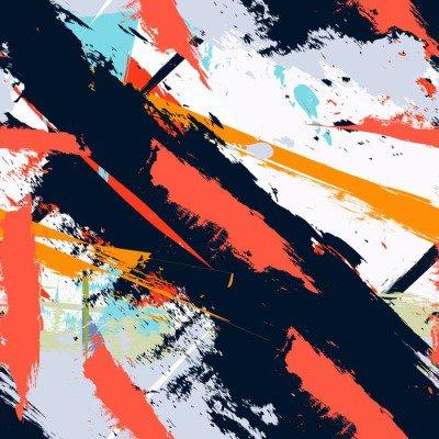 Pixerstick para Todas las Superficies Grunge del arte abstracto patrón transparente en dificultades
