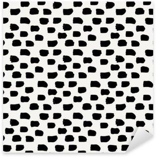 Vinilo Pixerstick Hand Drawn patrón abstracto sin fisuras