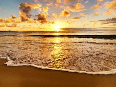 Pixerstick para Todas las Superficies Hermosa puesta de sol en la playa