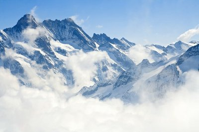 Pixerstick para Todas las Superficies Jungfraujoch Alpes paisaje de montaña