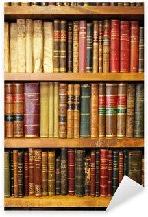 Vinilo Pixerstick Libros antiguos, biblioteca