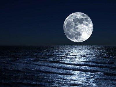 Pixerstick para Todas las Superficies Luna sobre el mar