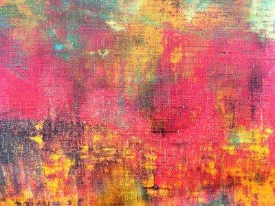 Pixerstick para Todas las Superficies Mano abstracto colorido lienzo pintado textura de fondo