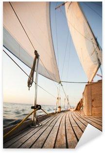 Vinilo Pixerstick Mar Báltico en vela