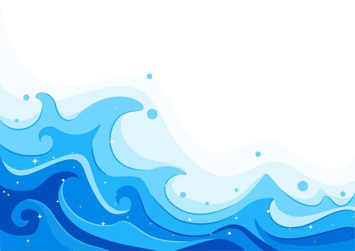 Pixerstick Para Todas Las Superficies Mar Olas • Pixers
