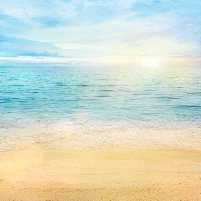 Pixerstick para Todas las Superficies Mar y arena de fondo