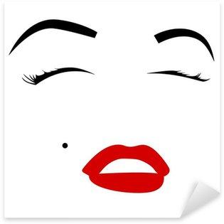 Vinilo Pixerstick Marilyn monroe