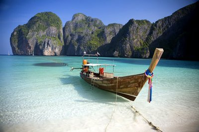 Pixerstick para Todas las Superficies Maya Bay, Koh Phi Phi Ley, Tailandia.