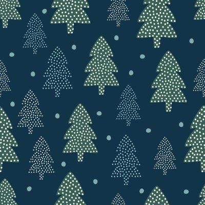 Pixerstick para Todas las Superficies Modelo de la Navidad - Árboles de Navidad y la nieve. fondo transparente de naturaleza Feliz Año Nuevo. diseño del bosque para las vacaciones de invierno. vacaciones de invierno vector impresión para la industria textil, papel pintado, tela, papel pintado.