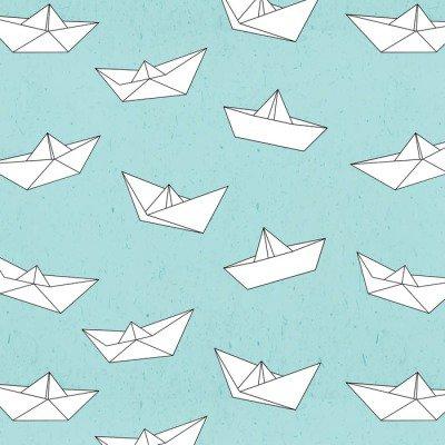 Pixerstick para Todas las Superficies Modelo del barco de papel