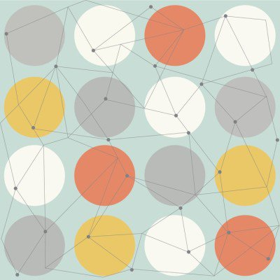 Pixerstick para Todas las Superficies Modernos patrón transparente geométrica escandinavo