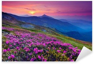 Vinilo Pixerstick Mountain Landscape
