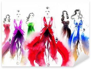 Pixerstick para Todas las Superficies Mujer en vestido