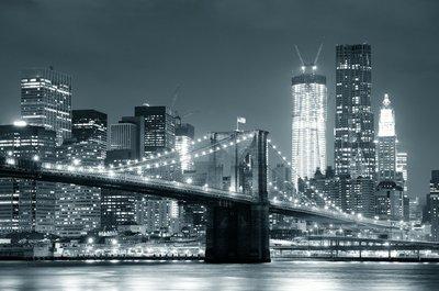 Pixerstick para Todas las Superficies New York Brooklyn Bridge