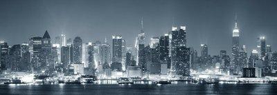 Pixerstick para Todas las Superficies New York City Manhattan en blanco y negro
