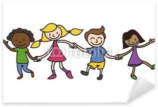 Pixerstick para Todas las Superficies Niños, amistad