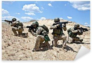 Vinilo Pixerstick Operación militar