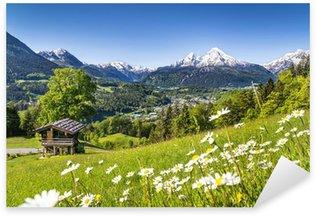 Pixerstick para Todas las Superficies Paisaje escénico en los Alpes de Baviera, Berchtesgaden, Alemania