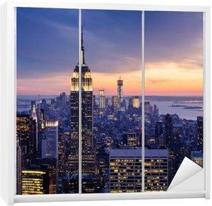 Vinilo para Armario New york city