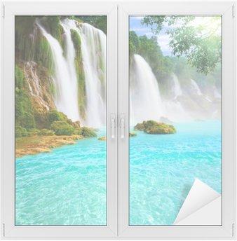Vinilo para Cristal y Ventana Detian waterfall