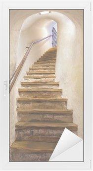 Vinilo para Cristal y Ventana Escaleras en el castillo Kufstein - Austria