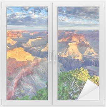 Vinilo para Cristal y Ventana Luz de la mañana en el Grand Canyon