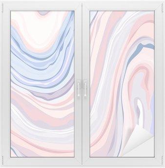 Vinilo para Cristal y Ventana Patrón de mármol - Textura abstracto con suaves colores pasteles 2016
