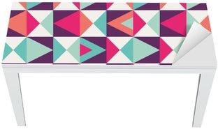 Vinilo para Mesa y Escritorio Seamless patrón geométrico