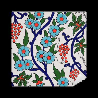 Vinilo pixerstick pared turca fondo del azulejo pixers for Azulejos pvc autoadhesivos