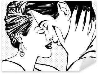 Pixerstick para Todas las Superficies Pares del vintage en amor