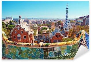 Pixerstick para Todas las Superficies Parque Güell de Barcelona. Barcelona - España