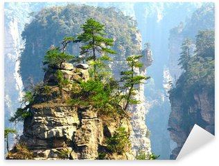 Pixerstick para Todas las Superficies Parque Nacional de Zhangjiajie, China. Avatar montañas