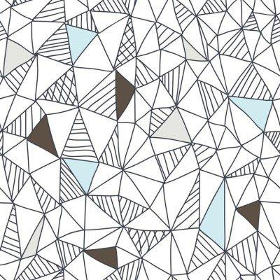 Pixerstick para Todas las Superficies Patrón abstracto sin fisuras garabato