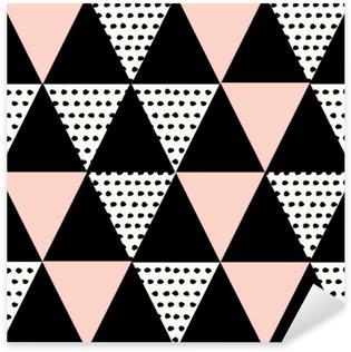 Vinilo Pixerstick Patrón geométrico abstracto