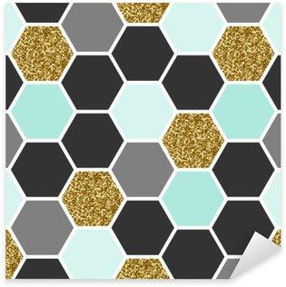Pixerstick para Todas las Superficies Patrón hexagonal perfecta