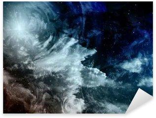 Pixerstick para Todas las Superficies Pintura del espacio profundo