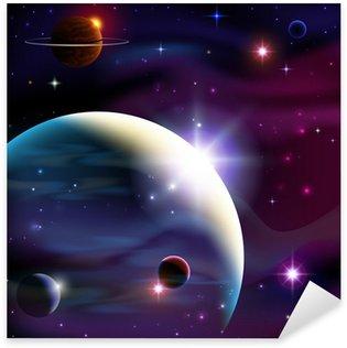 Pixerstick para Todas las Superficies Planetas y espacio.