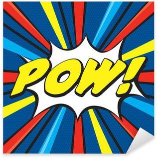 Pixerstick para Todas las Superficies POW! Pop Art