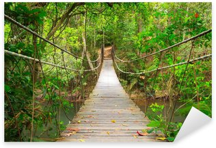 Pixerstick para Todas las Superficies Puente a la selva, Khao Yai National Park, Tailandia