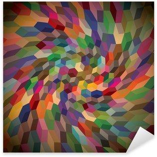 Pixerstick para Todas las Superficies Resumen de antecedentes de los cubos rizado, ilustración