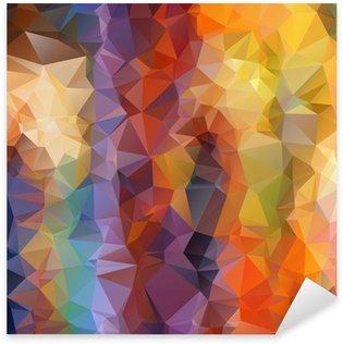 Pixerstick para Todas las Superficies Resumen de antecedentes poligonal