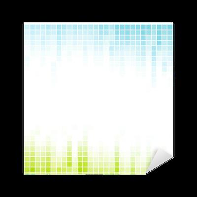 Vinilo pixerstick resumen del mosaico de p xeles de fondo degradado pixers vivimos para cambiar - Fotomurales pixel ...
