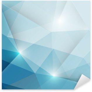 Vinilo Pixerstick Resumen triángulos geométricos fondo